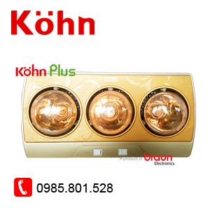 Đèn sưởi 3 bóng Kohn KP03G